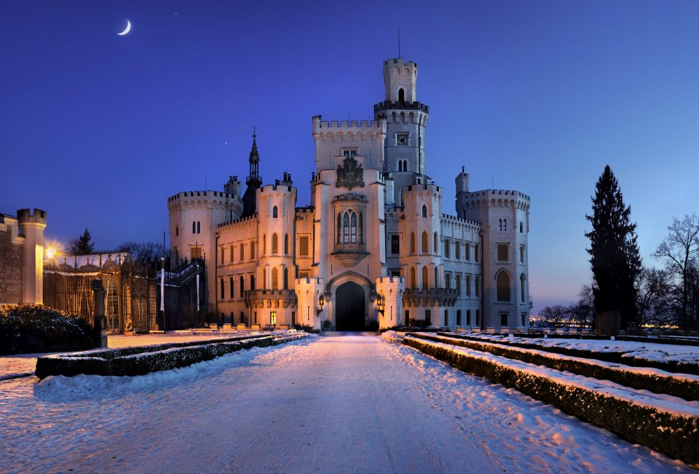 Pałac Hluboka nadWeltawą. fot.Ladislav Renner